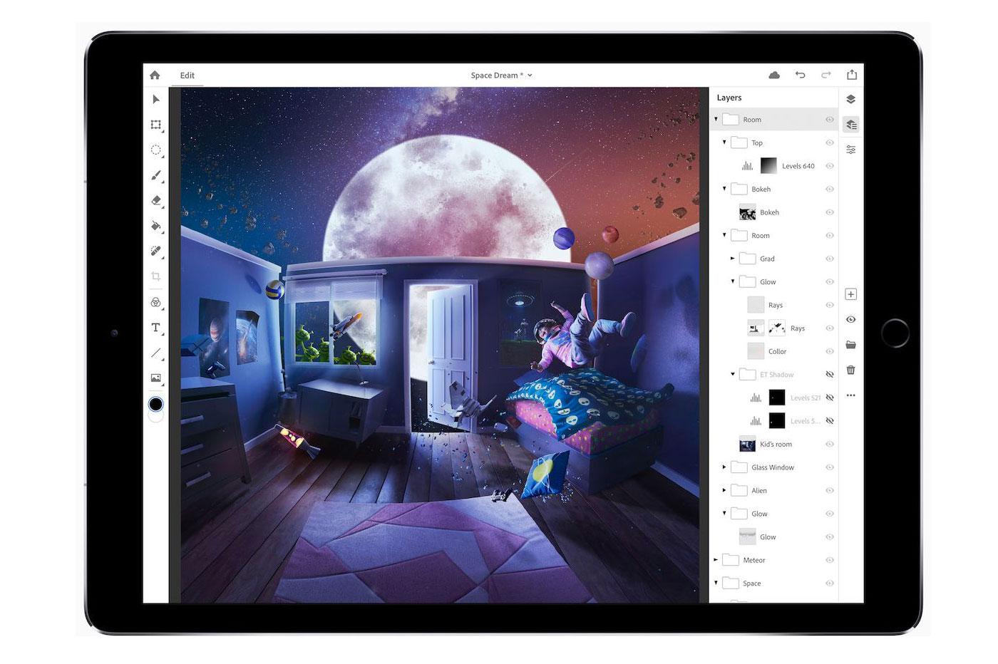 Photoshop pour iPad