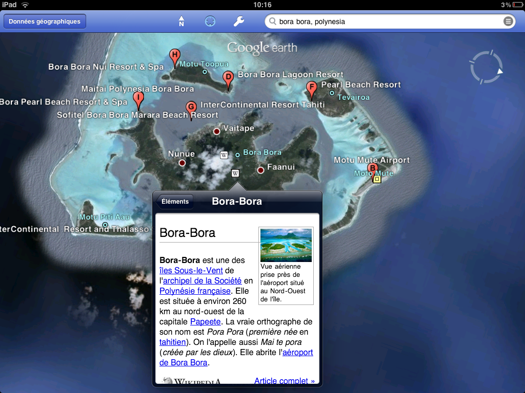7 версия <b>Google</b> <b>Earth</b> c 3D картами прилетела в App Store