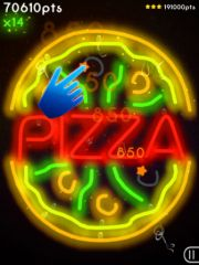 free iPhone app Neon Mania