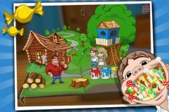 free iPhone app Hansel et Gretel de Grimm ~ Livre pop-up interactif en 3D