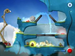free iPhone app Sprinkle: Water splashing fire fighting fun!