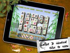 free iPhone app Mahjong Triplet HD