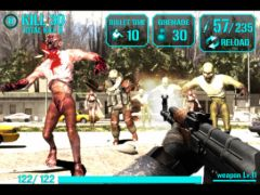 free iPhone app iGun Zombie