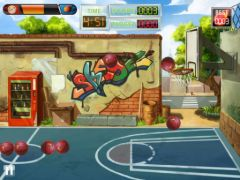 free iPhone app Basketball Toss