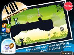 free iPhone app Cat Physics