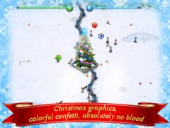free iPhone app Tesla Wars Christmas HD