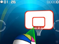 free iPhone app Throw ball