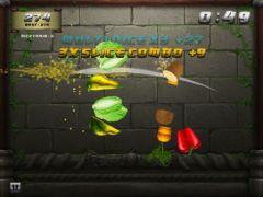 free iPhone app Veggie Samurai HD