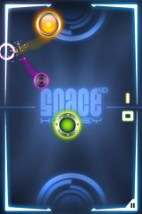 free iPhone app Space Hockey HD