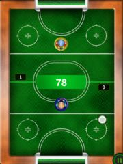 free iPhone app Air Hockey HD (Multiplayer)