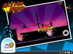 free iPhone app Action Hero