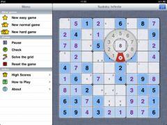 free iPhone app Sudoku Infinite