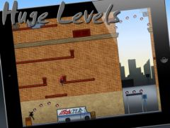 free iPhone app iTraceur - Parkour / Freerunning Platform Game