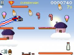 free iPhone app Nyan Cat: Lost In Space