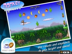 free iPhone app Monkey Flight