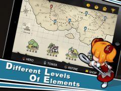 free iPhone app Element Defense