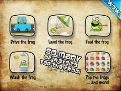 free iPhone app Tap The Frog HD