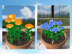 free iPhone app Flower Garden - Grow Flowers and Send Bouquets