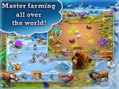 free iPhone app Farm Frenzy 3