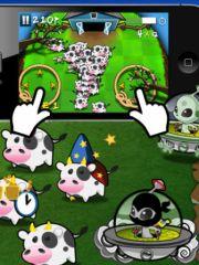 free iPhone app Cows vs Aliens