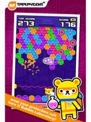 free iPhone app Tappi Bubble - Tappi Bear