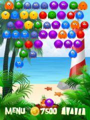 free iPhone app Bubble Birds HD