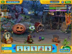 free iPhone app Fishdom: Halloween Splash HD