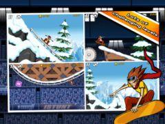 free iPhone app iStunt 2 - Snowboard