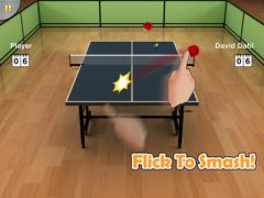 free iPhone app Virtual Table Tennis HD