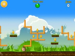 free iPhone app Abba -Bola : Rolling Head in the Labyrinth