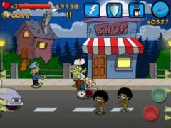 free iPhone app Granny vs Zombies HD