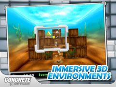 free iPhone app Aces 3D Brick Breaker HD