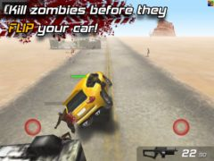 free iPhone app Zombie Highway