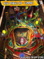 free iPhone app Theme Park Pinball