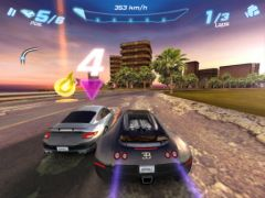 free iPhone app Asphalt 6 Adrenaline HD