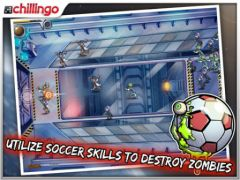 free iPhone app Pro Zombie Soccer Apocalypse Edition