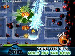 free iPhone app Sky Defenders