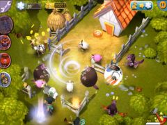 free iPhone app Save Our Sheep HD