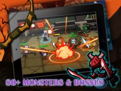 free iPhone app Heroes vs Monsters