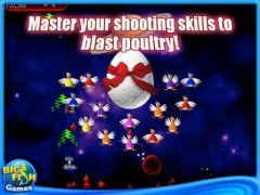free iPhone app Chicken Invaders 2: The Next Wave Christmas Edition HD (Full)