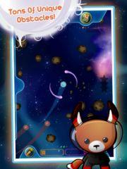free iPhone app Space Bunnies