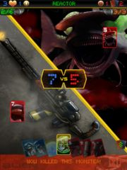free iPhone app Alien Menace