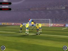 free iPhone app Flick Soccer! HD