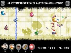 free iPhone app Birds Race