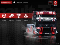 free iPhone app Renault Trucks Racing HD