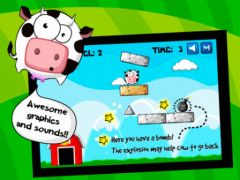 free iPhone app Cow Balloon