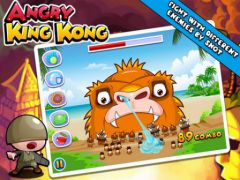 free iPhone app Angry King Kong