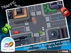 free iPhone app Traffic Rush