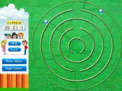 free iPhone app Maze Balls