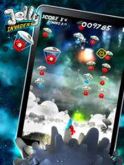 free iPhone app Jelly Invaders